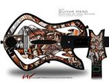Comic Decal Style Skin - fits Warriors Of Rock Guitar Hero Guitar (GUITAR NOT INCLUDED)