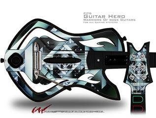 Hall Of Mirrors Decal Style Skin - fits Warriors Of Rock Guitar Hero Guitar (GUITAR NOT INCLUDED)