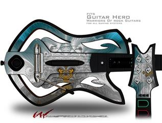 Heaven Decal Style Skin - fits Warriors Of Rock Guitar Hero Guitar (GUITAR NOT INCLUDED)