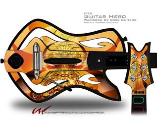 Into The Light Decal Style Skin - fits Warriors Of Rock Guitar Hero Guitar (GUITAR NOT INCLUDED)