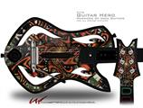 Knot Decal Style Skin - fits Warriors Of Rock Guitar Hero Guitar (GUITAR NOT INCLUDED)