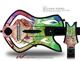 Learning Decal Style Skin - fits Warriors Of Rock Guitar Hero Guitar (GUITAR NOT INCLUDED)