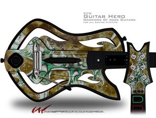 New Beginning Decal Style Skin - fits Warriors Of Rock Guitar Hero Guitar (GUITAR NOT INCLUDED)