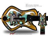 Mirage Decal Style Skin - fits Warriors Of Rock Guitar Hero Guitar (GUITAR NOT INCLUDED)