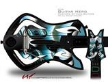Metal Decal Style Skin - fits Warriors Of Rock Guitar Hero Guitar (GUITAR NOT INCLUDED)