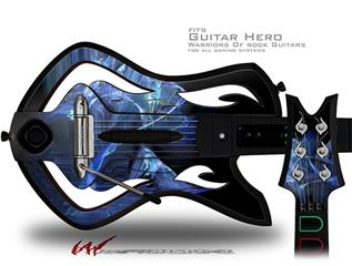Midnight Decal Style Skin - fits Warriors Of Rock Guitar Hero Guitar (GUITAR NOT INCLUDED)