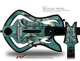 New Fish Decal Style Skin - fits Warriors Of Rock Guitar Hero Guitar (GUITAR NOT INCLUDED)
