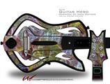 On Thin Ice Decal Style Skin - fits Warriors Of Rock Guitar Hero Guitar (GUITAR NOT INCLUDED)