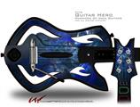 Opal Shards Decal Style Skin - fits Warriors Of Rock Guitar Hero Guitar (GUITAR NOT INCLUDED)
