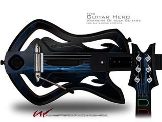 Plasma Decal Style Skin - fits Warriors Of Rock Guitar Hero Guitar (GUITAR NOT INCLUDED)