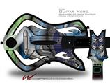 Plastic Decal Style Skin - fits Warriors Of Rock Guitar Hero Guitar (GUITAR NOT INCLUDED)