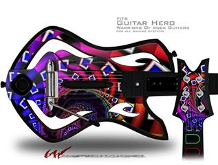 Rocket Science Decal Style Skin - fits Warriors Of Rock Guitar Hero Guitar (GUITAR NOT INCLUDED)