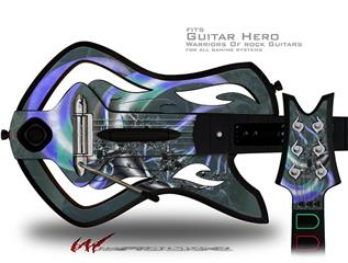 Sea Anemone2 Decal Style Skin - fits Warriors Of Rock Guitar Hero Guitar (GUITAR NOT INCLUDED)