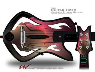 Surface Tension Decal Style Skin - fits Warriors Of Rock Guitar Hero Guitar (GUITAR NOT INCLUDED)