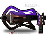 Sunset Decal Style Skin - fits Warriors Of Rock Guitar Hero Guitar (GUITAR NOT INCLUDED)