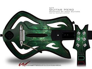 Theta Space Decal Style Skin - fits Warriors Of Rock Guitar Hero Guitar (GUITAR NOT INCLUDED)
