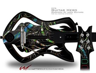 Tartan Decal Style Skin - fits Warriors Of Rock Guitar Hero Guitar (GUITAR NOT INCLUDED)