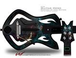 Thunder Decal Style Skin - fits Warriors Of Rock Guitar Hero Guitar (GUITAR NOT INCLUDED)