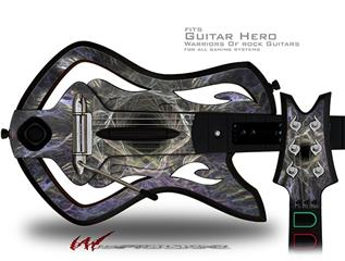 Tunnel Decal Style Skin - fits Warriors Of Rock Guitar Hero Guitar (GUITAR NOT INCLUDED)