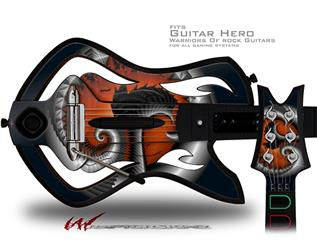 Tree Decal Style Skin - fits Warriors Of Rock Guitar Hero Guitar (GUITAR NOT INCLUDED)