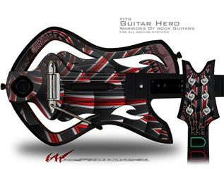Up And Down Decal Style Skin - fits Warriors Of Rock Guitar Hero Guitar (GUITAR NOT INCLUDED)