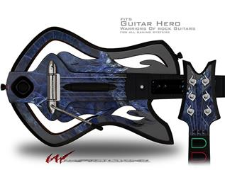 Wingtip Decal Style Skin - fits Warriors Of Rock Guitar Hero Guitar (GUITAR NOT INCLUDED)