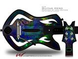 Deeper Dive Decal Style Skin - fits Warriors Of Rock Guitar Hero Guitar (GUITAR NOT INCLUDED)