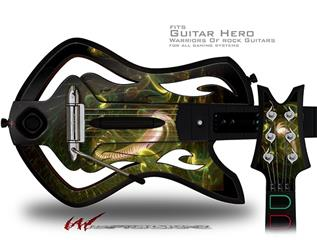 Out Of The Box Decal Style Skin - fits Warriors Of Rock Guitar Hero Guitar (GUITAR NOT INCLUDED)