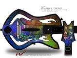 Fireworks Decal Style Skin - fits Warriors Of Rock Guitar Hero Guitar (GUITAR NOT INCLUDED)