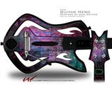 Cubic Decal Style Skin - fits Warriors Of Rock Guitar Hero Guitar (GUITAR NOT INCLUDED)