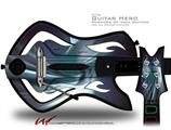 Icy Decal Style Skin - fits Warriors Of Rock Guitar Hero Guitar (GUITAR NOT INCLUDED)