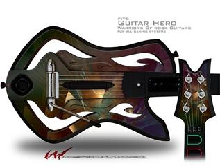 Windswept Decal Style Skin - fits Warriors Of Rock Guitar Hero Guitar (GUITAR NOT INCLUDED)