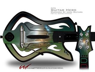 Portal Decal Style Skin - fits Warriors Of Rock Guitar Hero Guitar (GUITAR NOT INCLUDED)