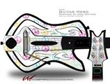 Kearas Peace Signs Decal Style Skin - fits Warriors Of Rock Guitar Hero Guitar (GUITAR NOT INCLUDED)
