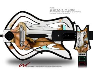 Whitney Jene White Sheets Decal Style Skin - fits Warriors Of Rock Guitar Hero Guitar (GUITAR NOT INCLUDED)