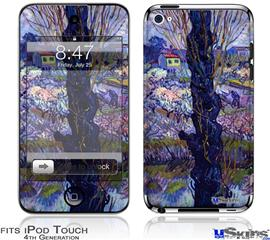 iPod Touch 4G Decal Style Vinyl Skin - Vincent Van Gogh View Of Arles