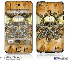 iPod Touch 4G Decal Style Vinyl Skin - Airship Pirate