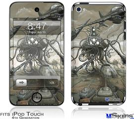 iPod Touch 4G Decal Style Vinyl Skin - Mankind Has No Time