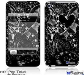 iPod Touch 4G Decal Style Vinyl Skin - Pineapples