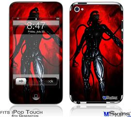 iPod Touch 4G Decal Style Vinyl Skin - Shell