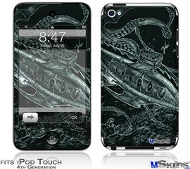 iPod Touch 4G Decal Style Vinyl Skin - The Nautilus