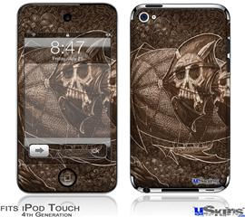 iPod Touch 4G Decal Style Vinyl Skin - The Temple