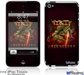 iPod Touch 4G Decal Style Vinyl Skin - Y&T Facemelter