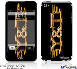 iPod Touch 4G Decal Style Vinyl Skin - Y&T