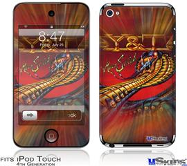 iPod Touch 4G Decal Style Vinyl Skin - Y&T Mean Streak