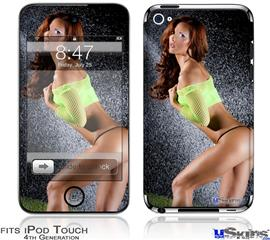 iPod Touch 4G Decal Style Vinyl Skin - Amanda Olson 01