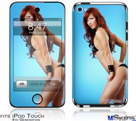 iPod Touch 4G Decal Style Vinyl Skin - Amanda Olson 07