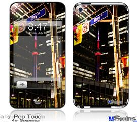 iPod Touch 4G Decal Style Vinyl Skin - Bay St Toronto