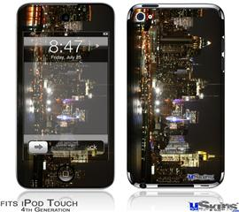 iPod Touch 4G Decal Style Vinyl Skin - New York