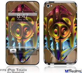 iPod Touch 4G Decal Style Vinyl Skin - Software Bug